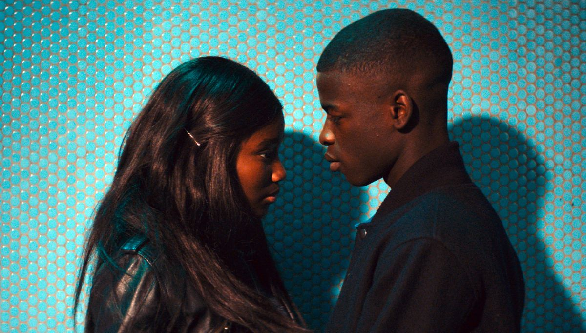 Karidja Touré e Idrissa Diabaté in una scena del film.
