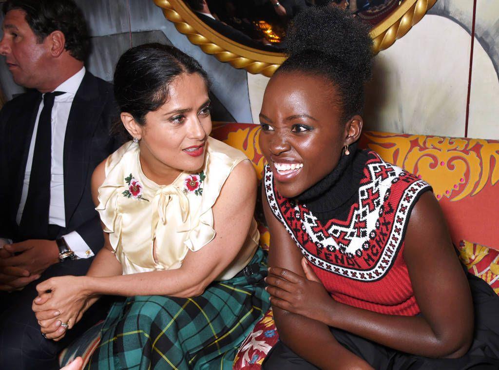 Salma Hayek e Lupita Nyong'o.