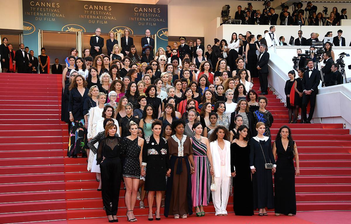 La Women's March di Cannes71.