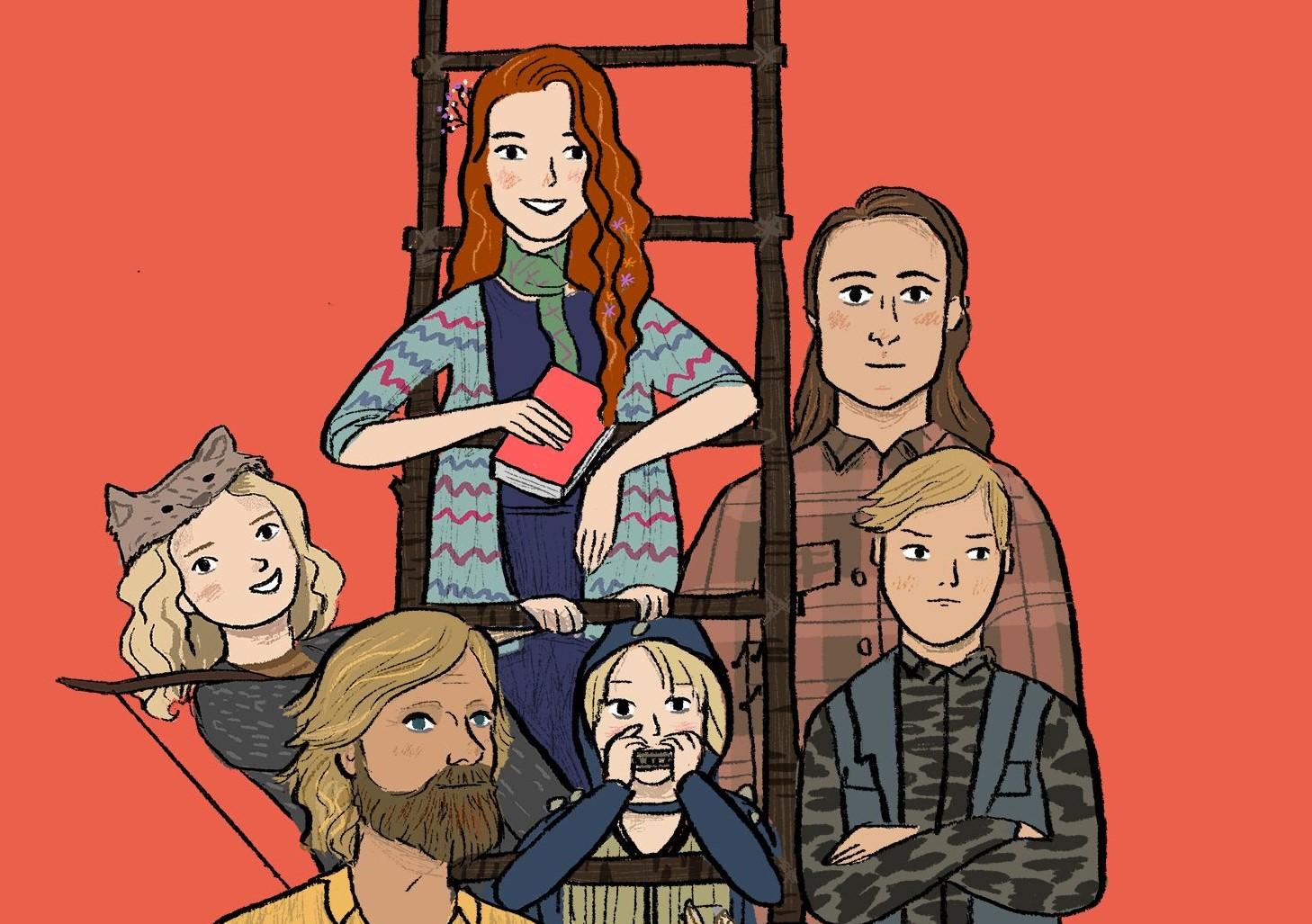 Captain Fantastic secondo l'illustrazione di Emmeline Pidgen