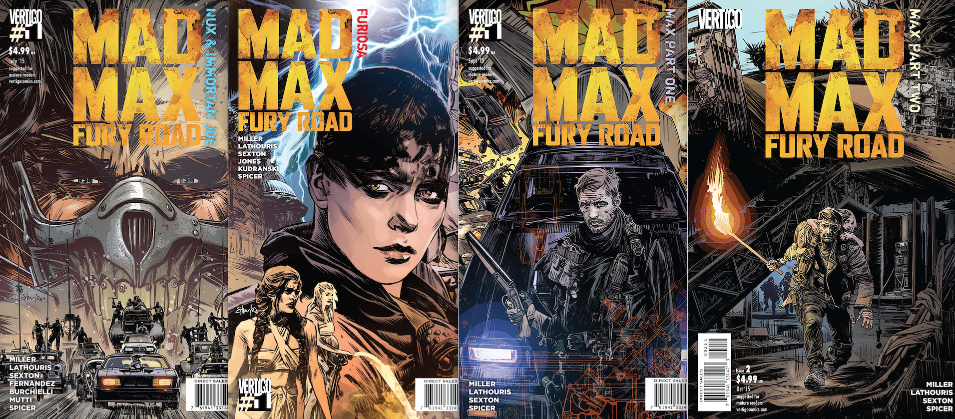 mad max comics cover