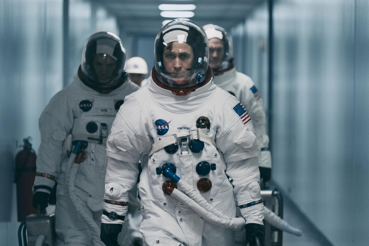 Ryan Gosling è Neil Armstrong in First Man