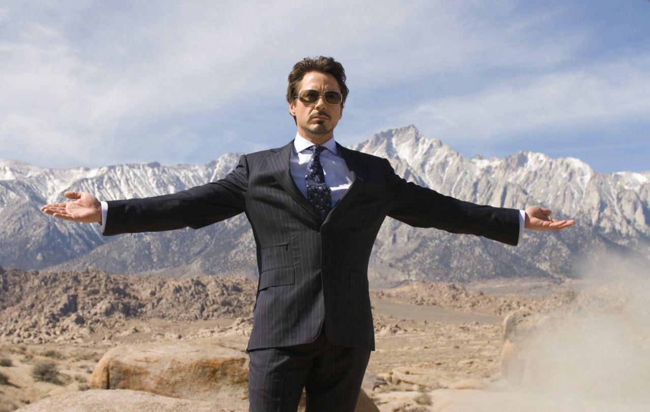 Iron Man, una scena del film.