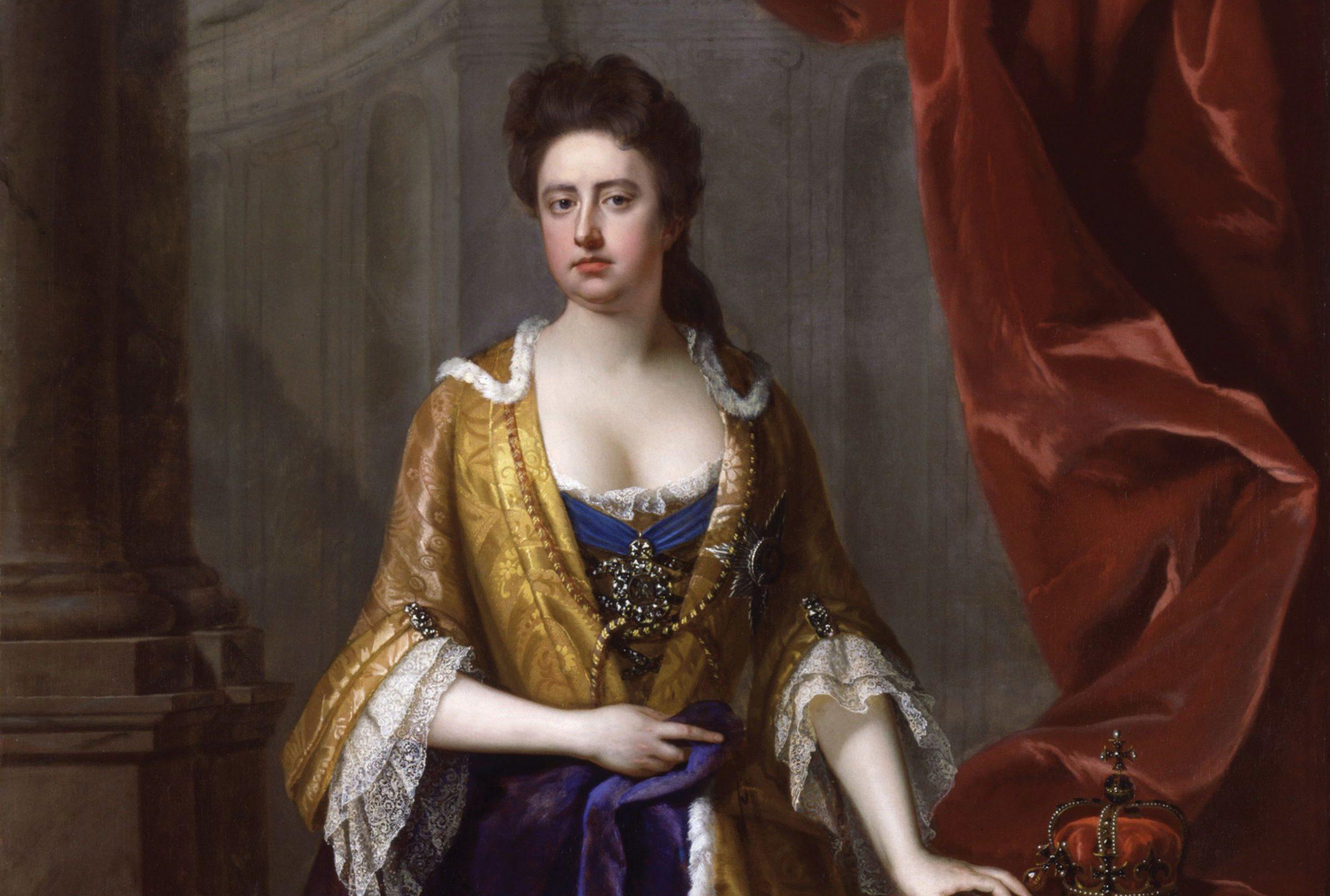 La Favorita, un ritratto della regina Anna.
