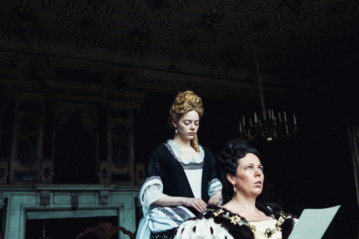 La Favorita, una scena del film.