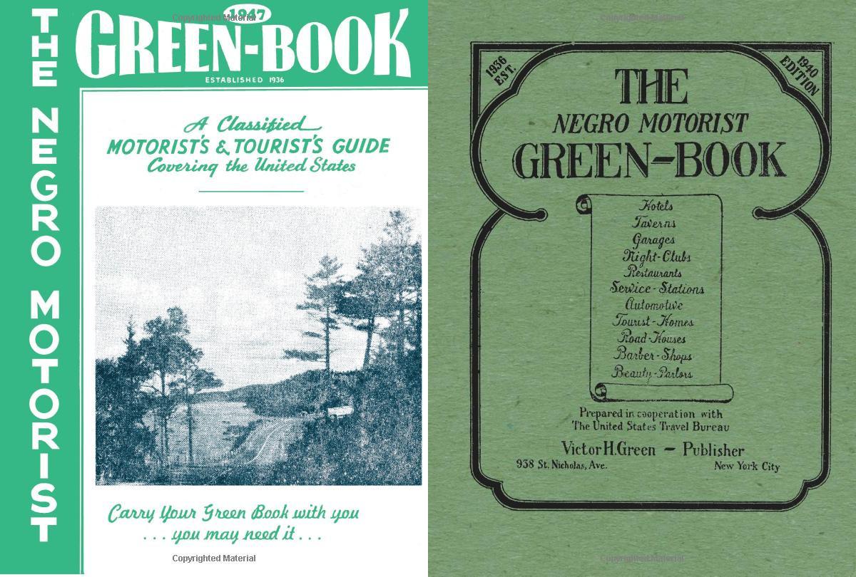 Green Book, le copertine di due edizioni.