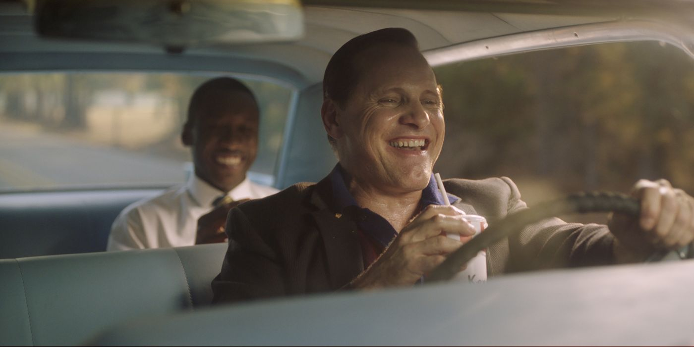 Green Book, una scena del film.