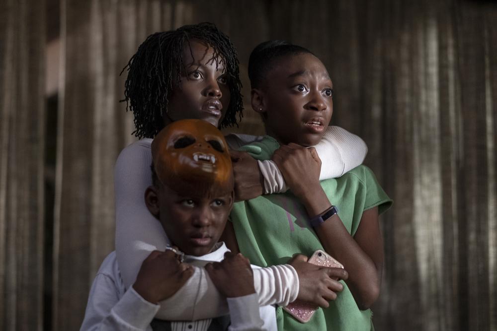 Noi, i tre protagonisti del film di Jordan Peele