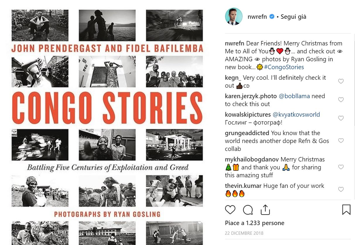 Congo Stories, l'account di Refn