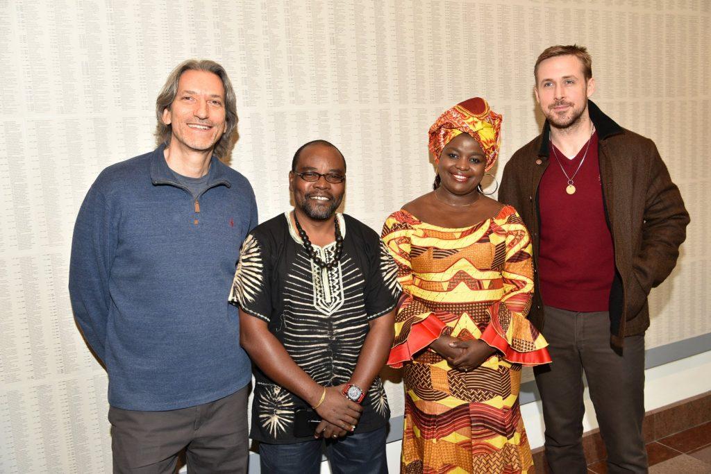 Congo Stories, gli autori con Chouchou Namegabe e Ryan Gosling