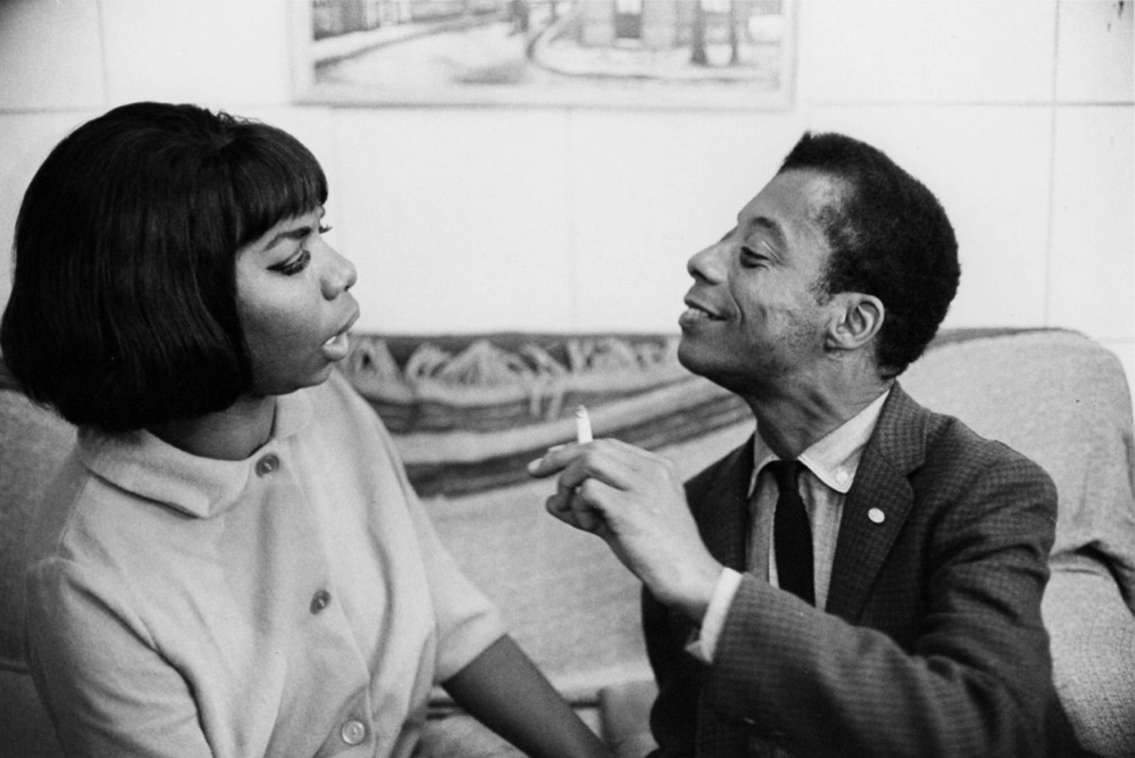 James Baldwin e Nina Simone.