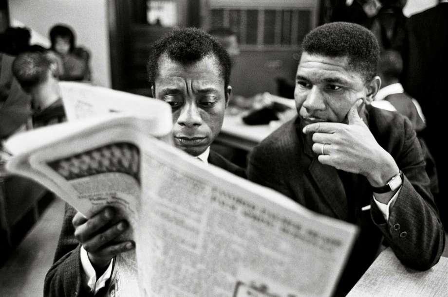 James Baldwin e Medgar Evers