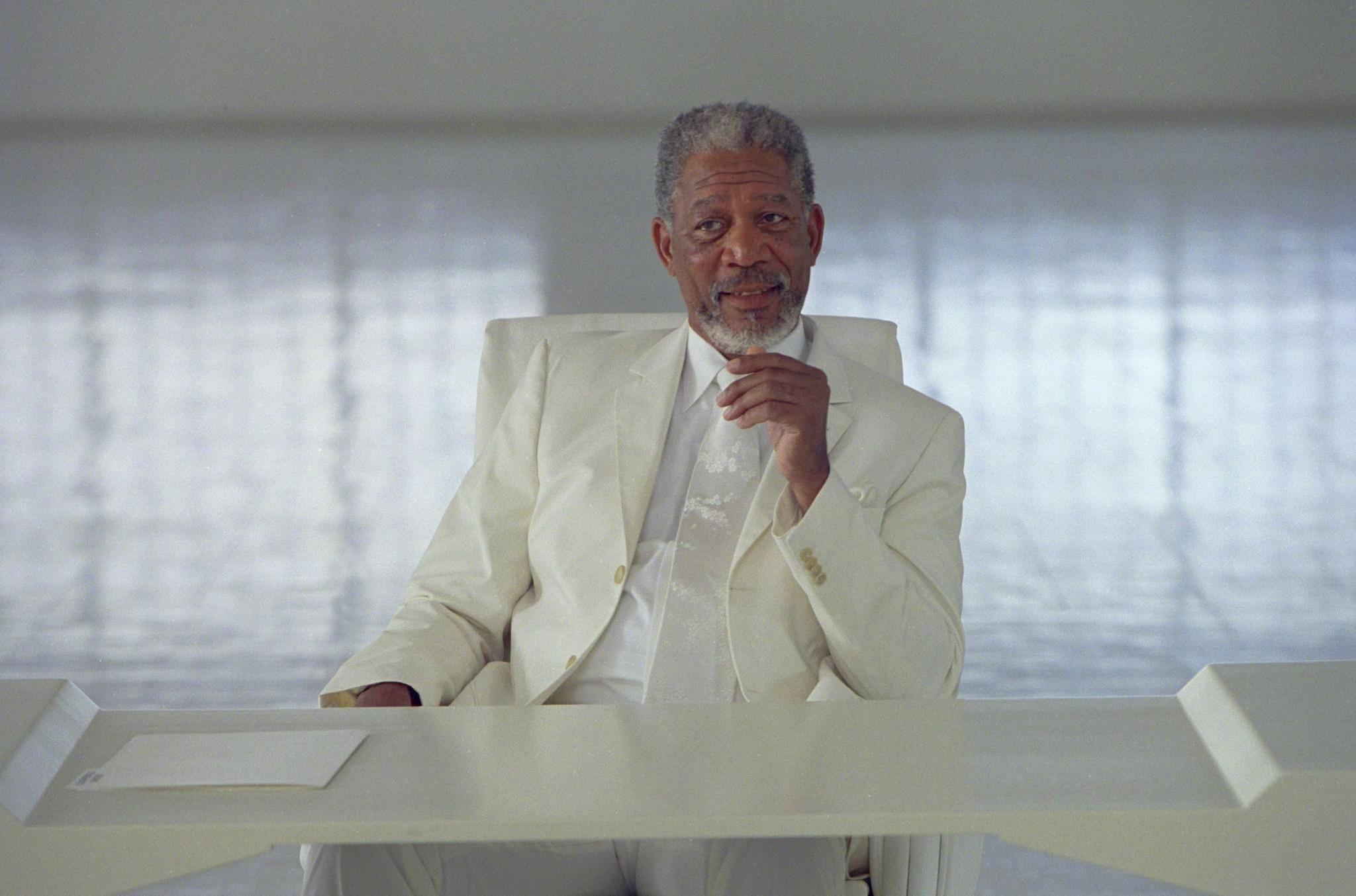 Morgan Freeman settimana da dio