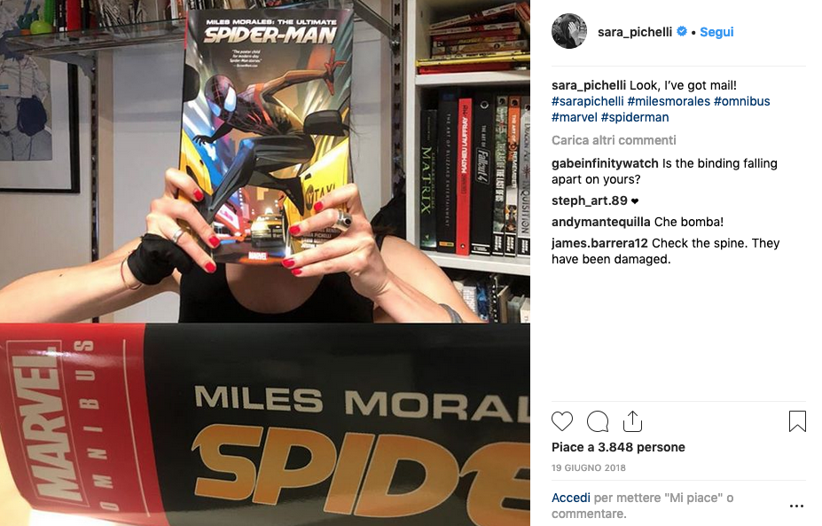 sara pichelli spiderman