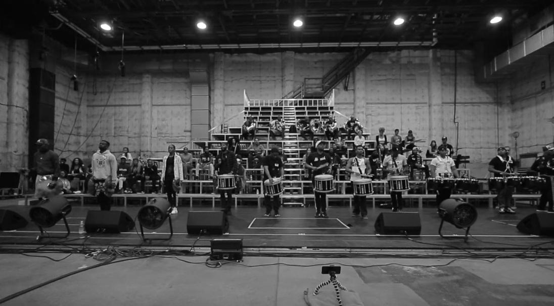 Homecoming: una scena del documentario di Beyoncé