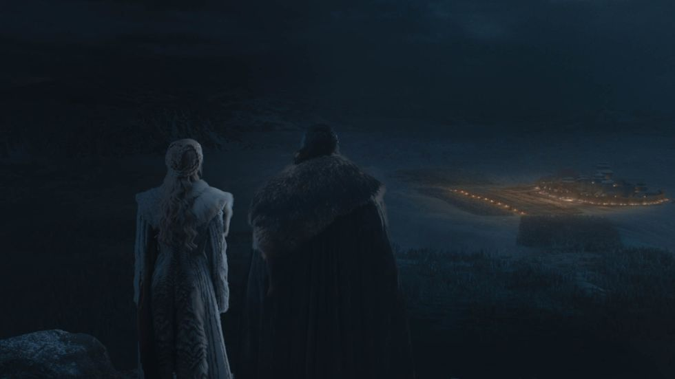 The Long Night: una scena del terzo episodio de Il Trono di Spade 8