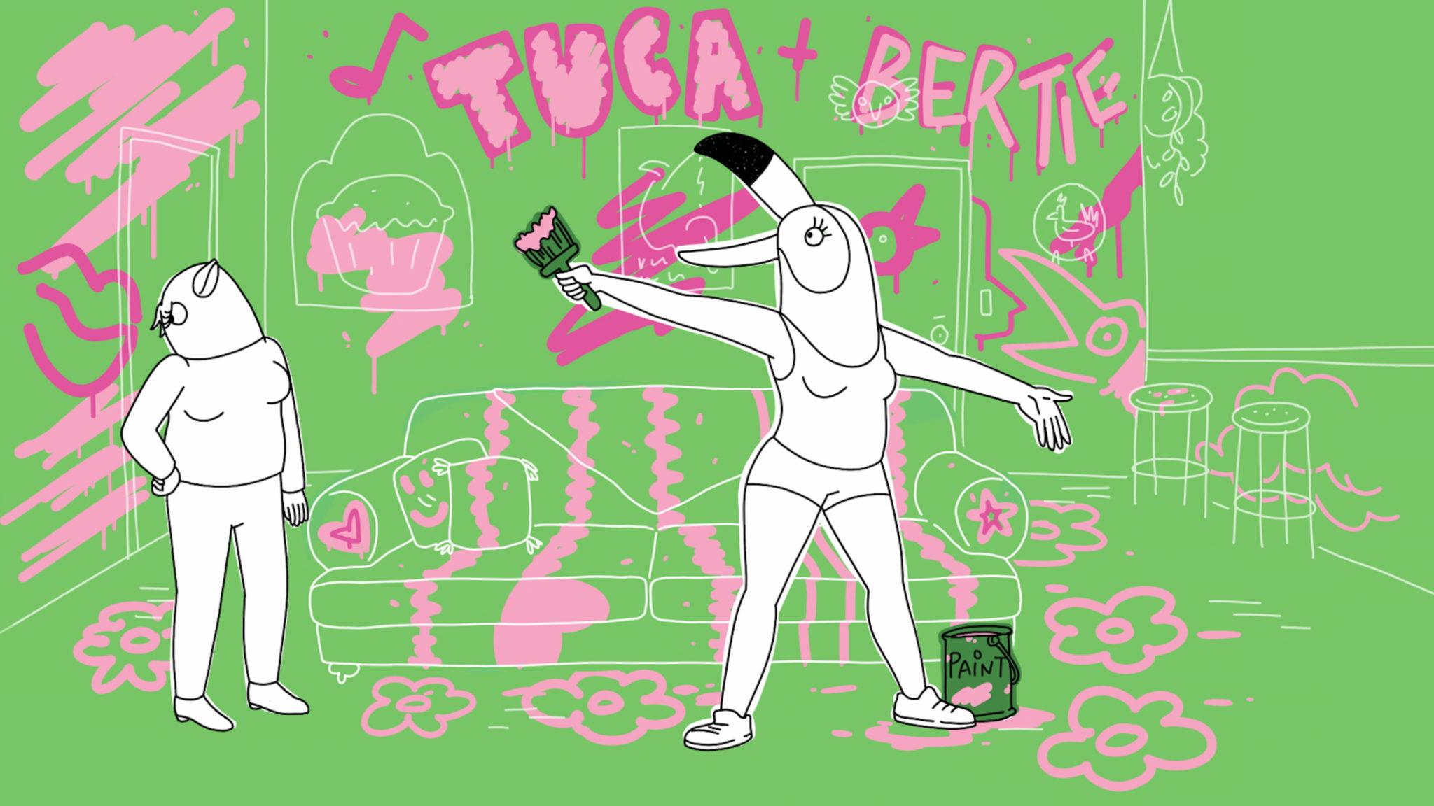 Tuca e Bertie: una scena della serie Netflix di Lisa Hanawalt