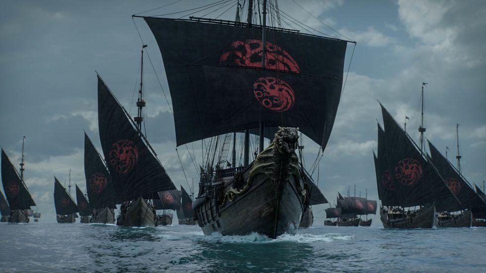 The Last of the Starks: una scena del quarto episodio de Il Trono di Spade 8