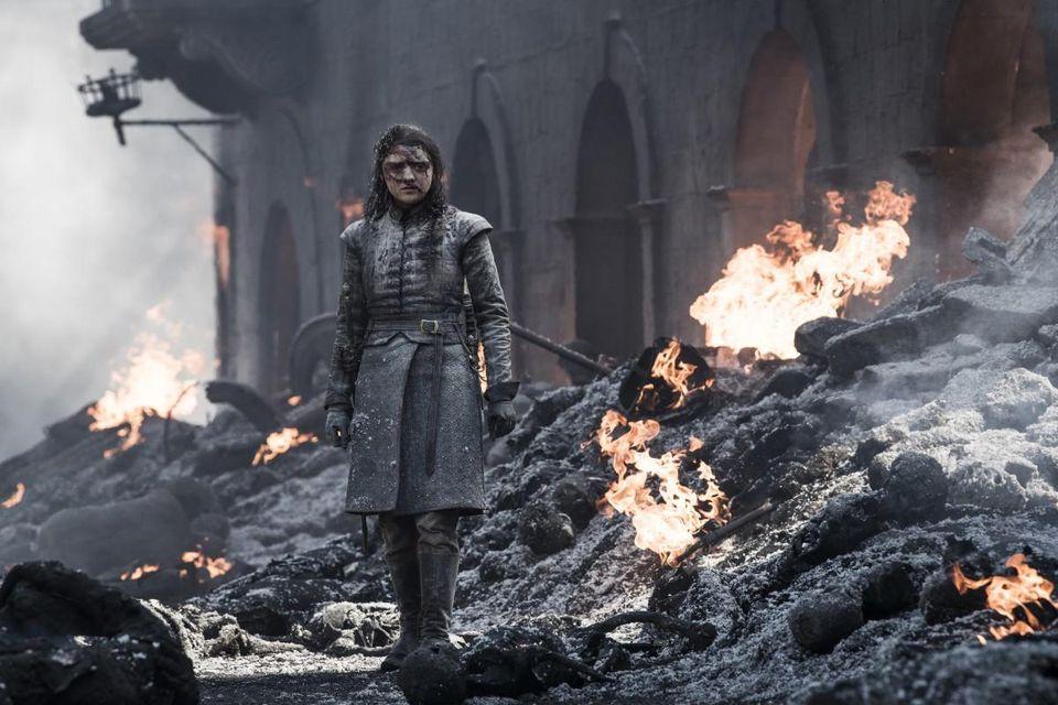 The Iron Throne: una scena dell'ultima puntata de Il Trono di Spade