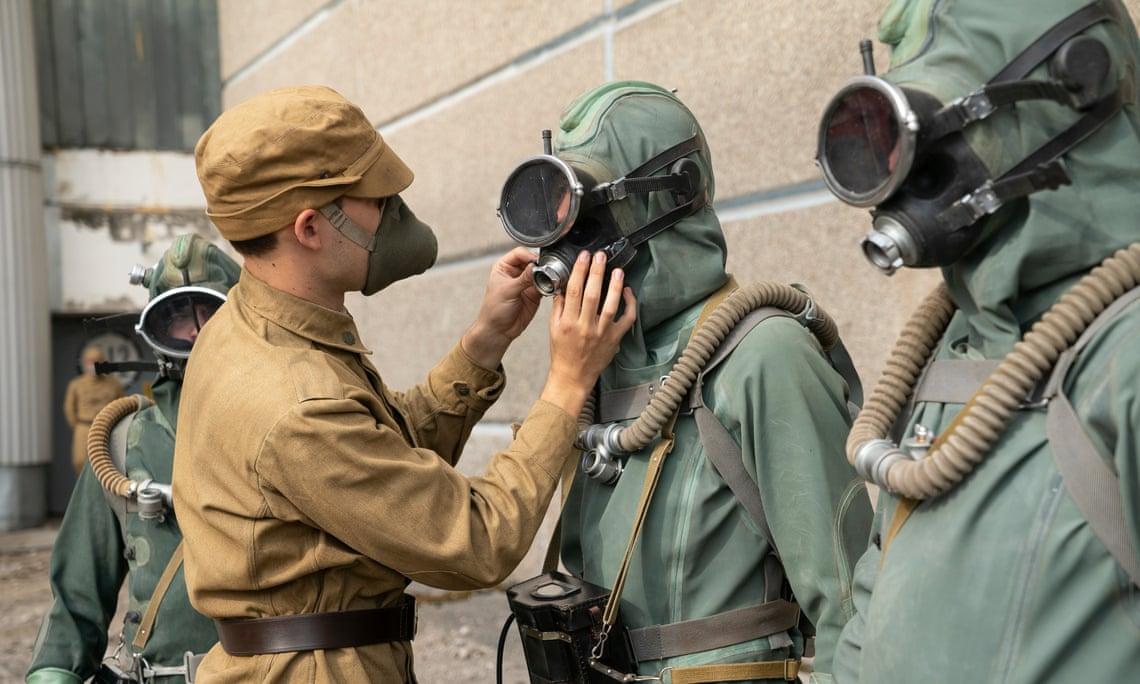 Chernobyl: una scena della serie HBO