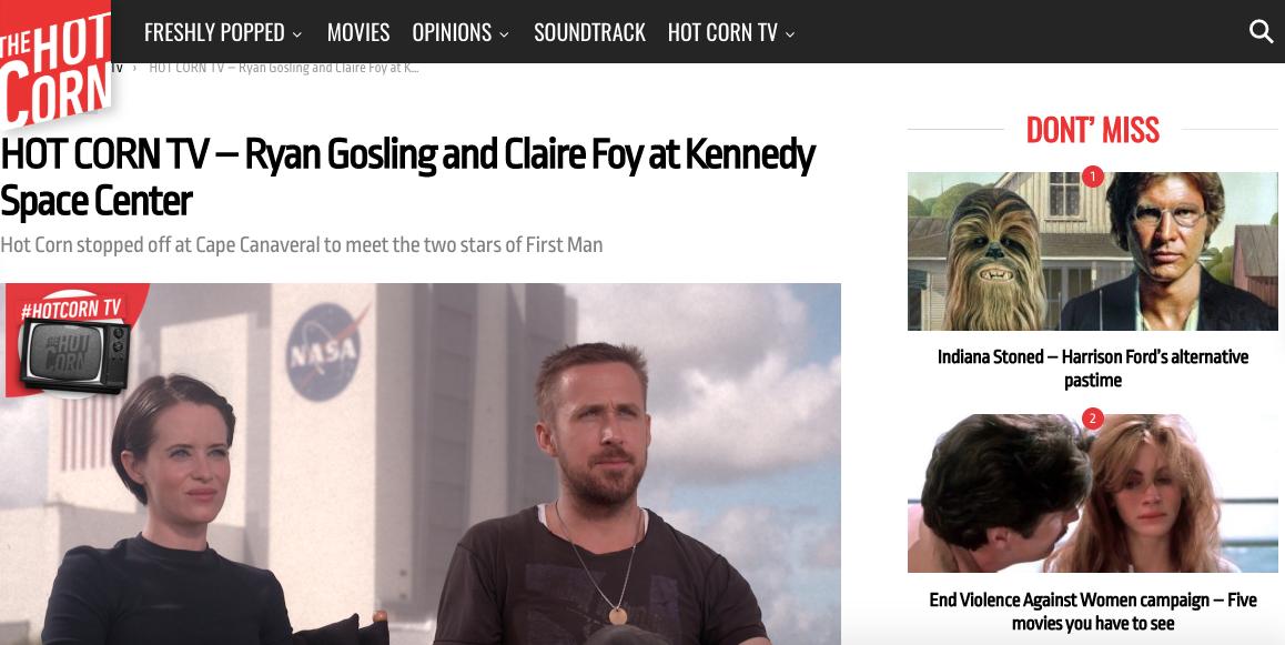 Claire Foy e Ryan Gosling
