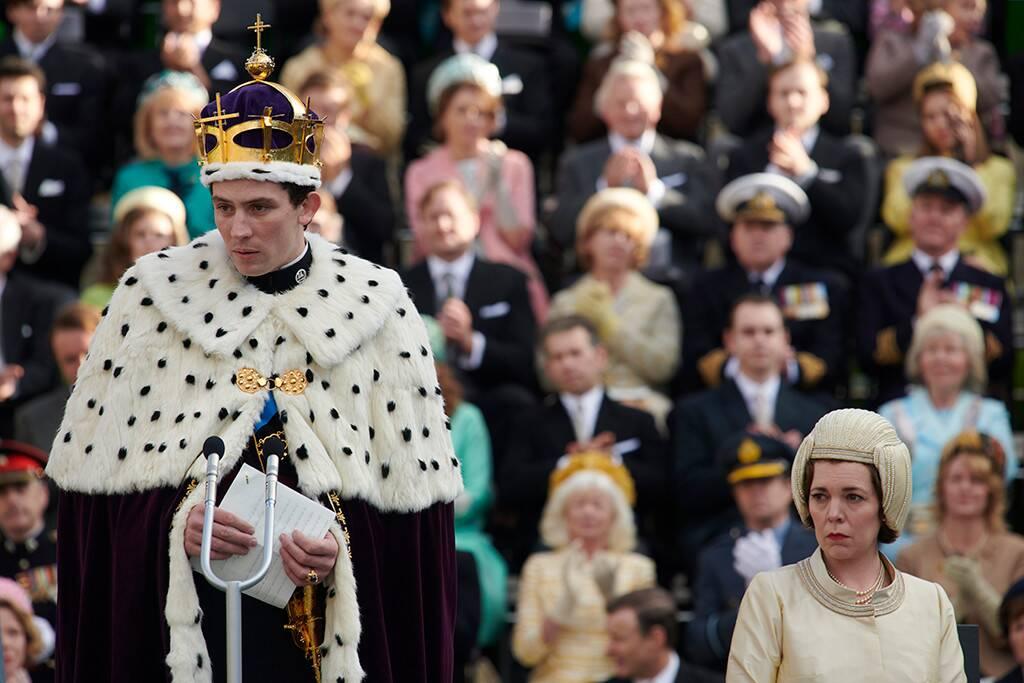 The Crown 3: una scena della terza stagione della serie Netflix