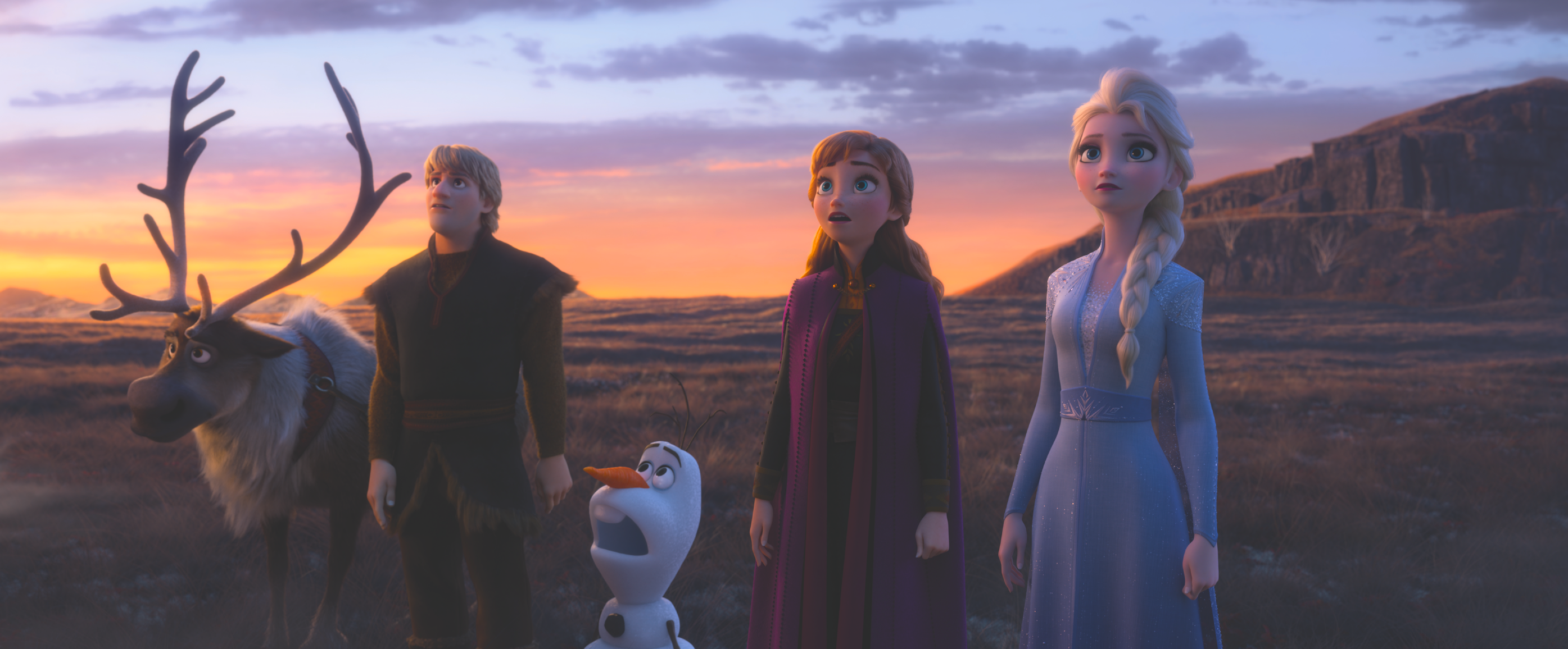 Una scena di Frozen 2