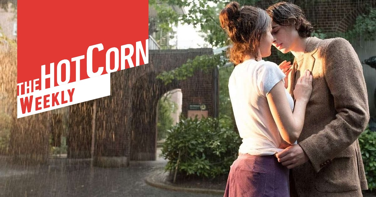 Un giorno di pioggia a New York: una scena del film