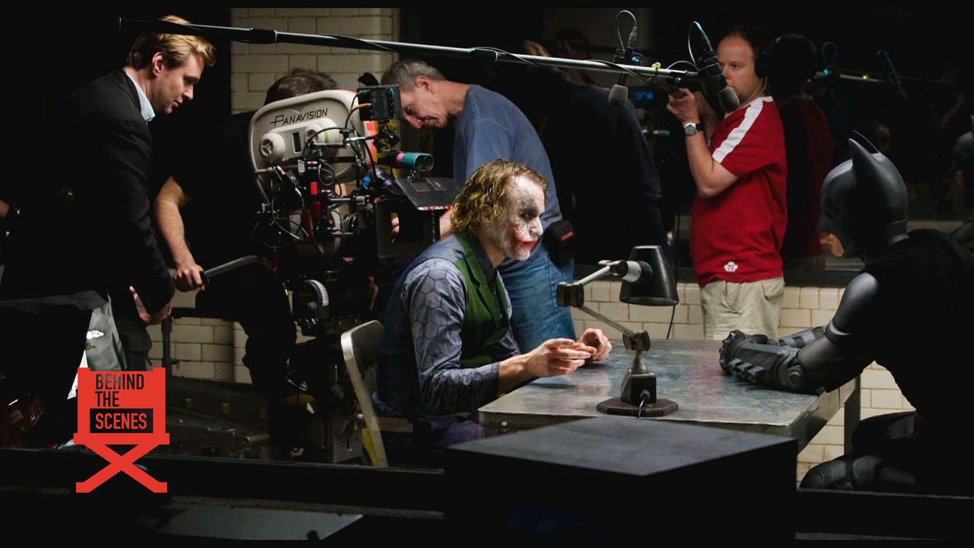 Il Cavaliere Oscuro: sul set del film