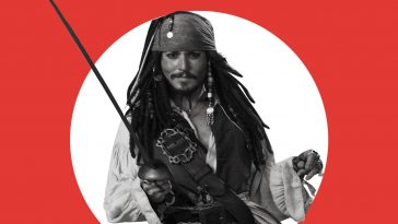 Johnny Depp è Jack Sparrow