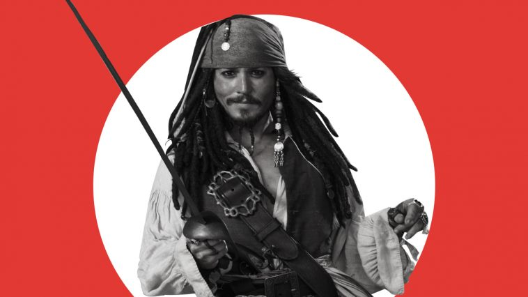 Johnny Depp è Jack Sparrow