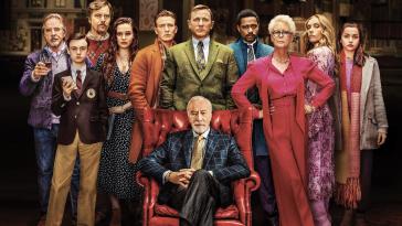Cena con Delitto - Knvies Out: il cast al completo in un dettaglio del poster