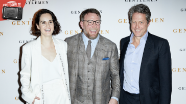 The Gentlemen: Michelle Dockery, Guy Ritichie e Hugh Grant