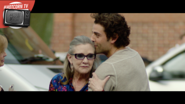 Star Wars, ieri e oggi: Carrie Fisher e Oscar Isaac