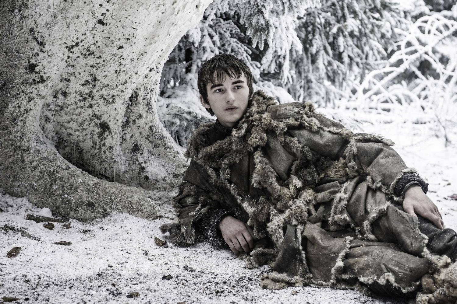 Isaac Hempstead-Wright in una scena