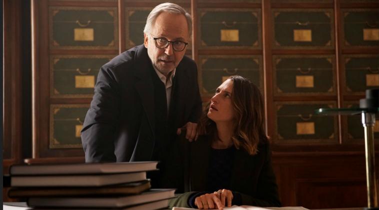 Fabrice Luchini e Joséphine Pick ne Il Mistero Henri Pick