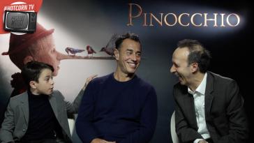 Federico Ielapi, Matteo Garrone e Roberto Benigni