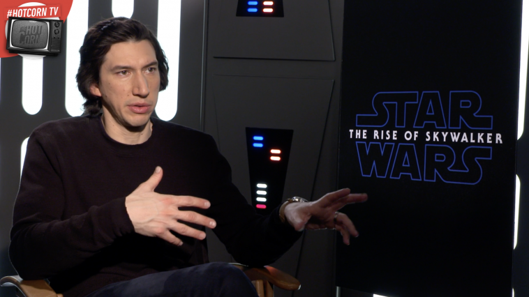 Adam Driver racconta Star Wars: L'Ascesa di Skywalker