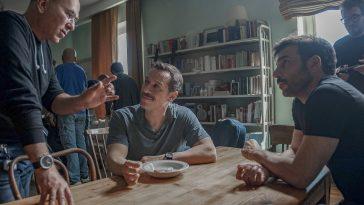 Ferzan Özpetek, Stefano Accorsi ed Edoardo Leo sul set del film