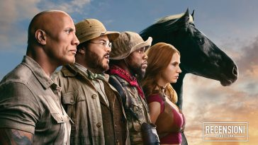I protagonisti di Jumanji: The Next Level