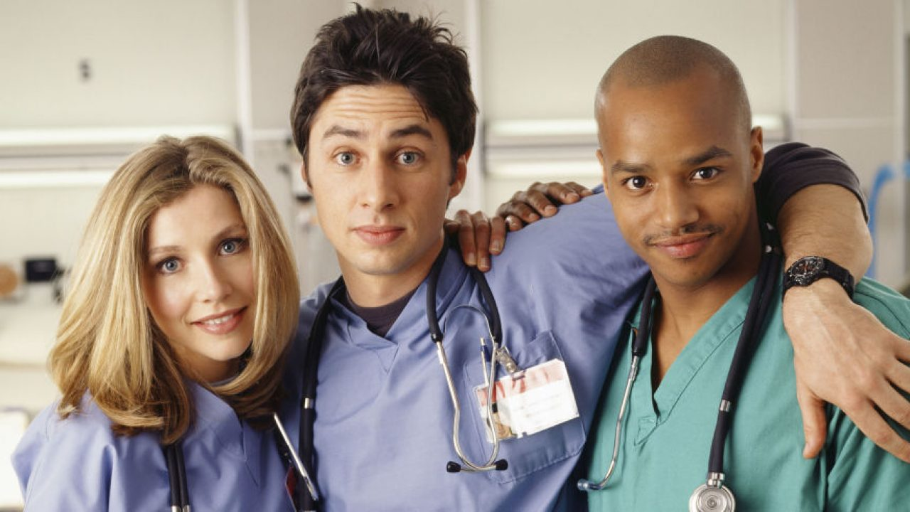 Scrubs: Elliot, JD e Turk