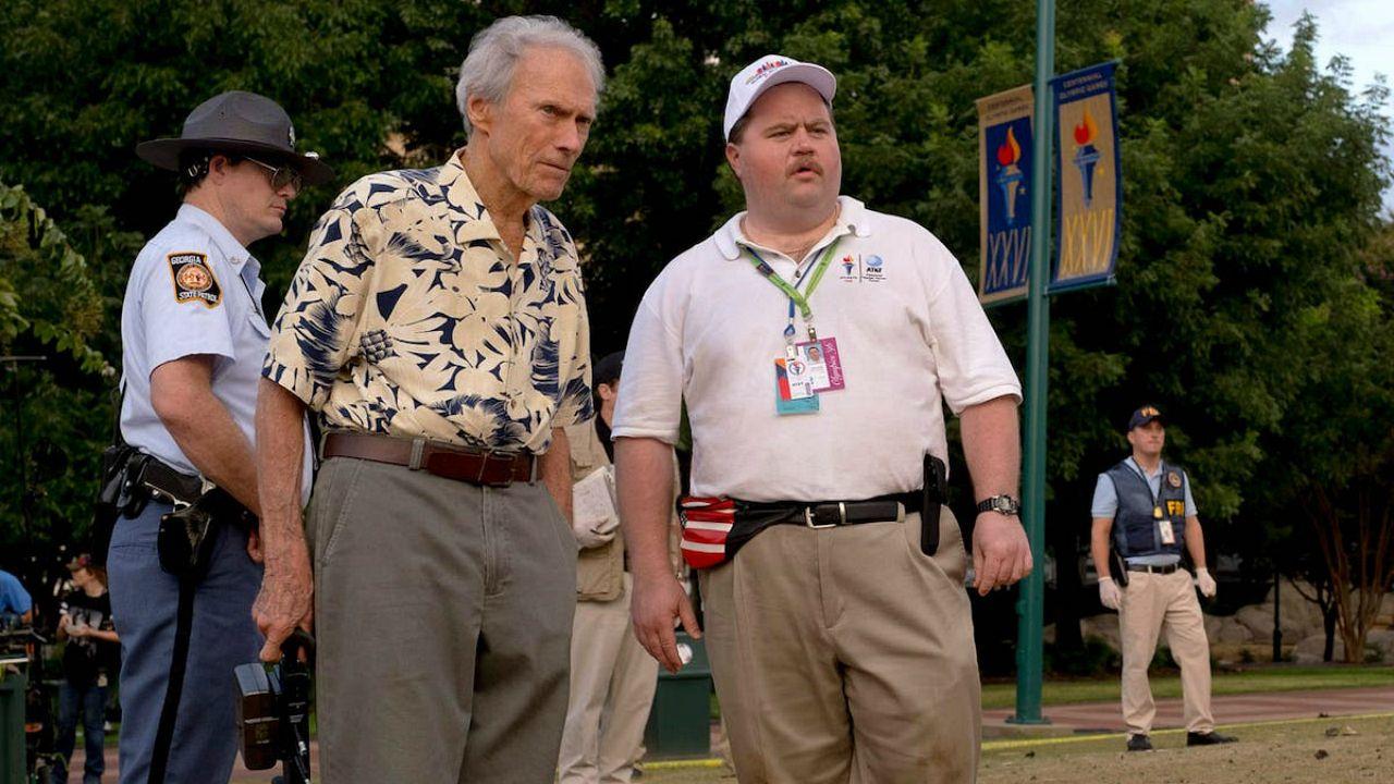 Paul Walter Hauser e Clint Eastwood