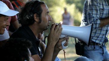 Paolo Sorrentino in un momento del documentario