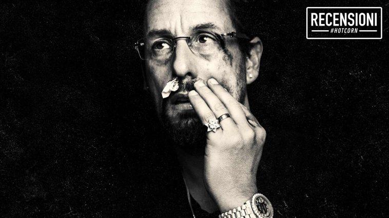 Adam Sandler in un dettaglio del poster di Diamanti Grezzi (Uncut Gems)