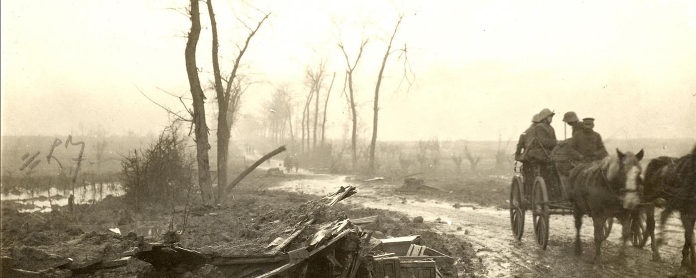 Morte e fango: un'immagine dopo la Battaglia di Ypres
