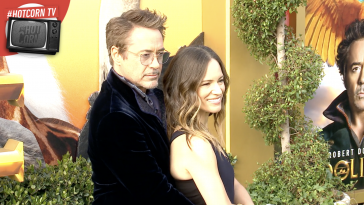 Robert Downey Jr. e sua moglie Susan alla Première di Dolittle