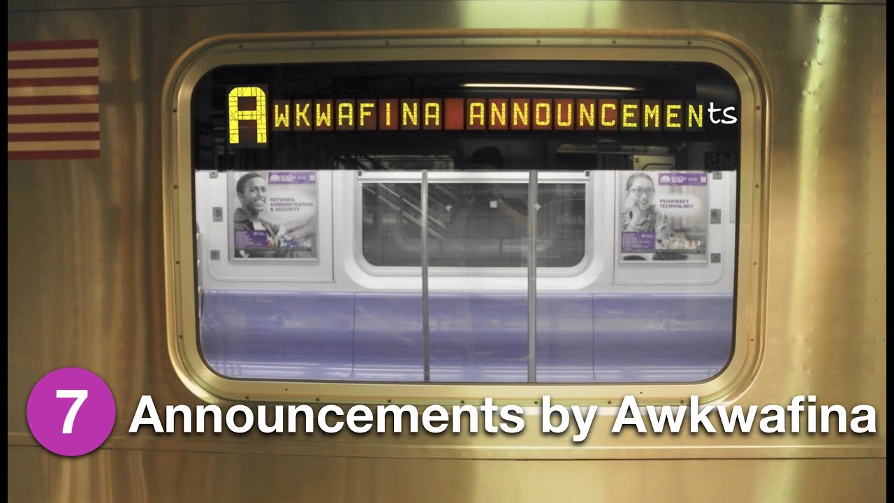 Awkwafina Announcements