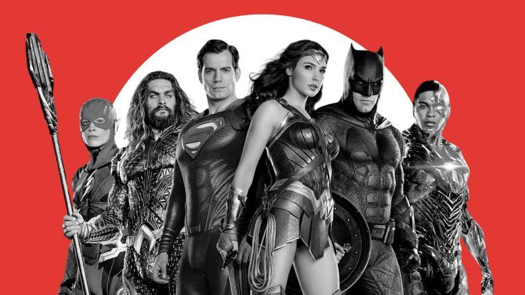 La Justice League al completo