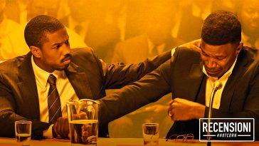 Michael B. Jordan e Jamie Foxx nel banner de Il Diritto di Opporsi