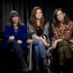 Luna Nera: Francesca Comencini, Susanna Nicchiarelli e Paola Randi, assieme a Tiziana Triana